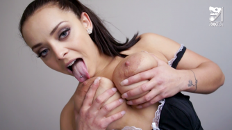 Tourist fucks french hot maid with big tits and ass. ft. Liza del Sierra